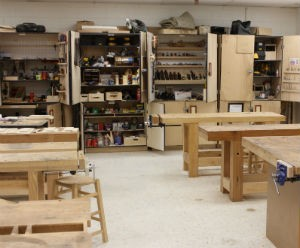 Hand tool cabinets.