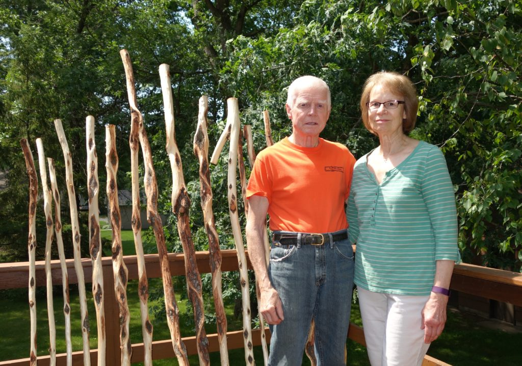 John and Marci Krantz are from Forest Lake, Minnesota